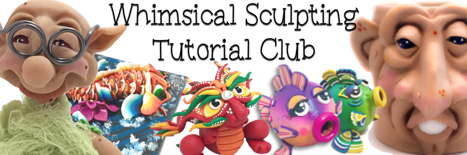 Whimsical Sculpting Tutorial Club from KatersAcres